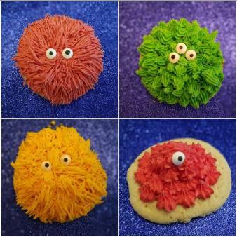 Alien Sugar Cookies